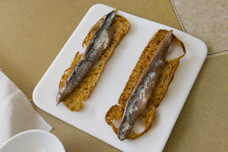 Anchoas de Escala Disfrutar