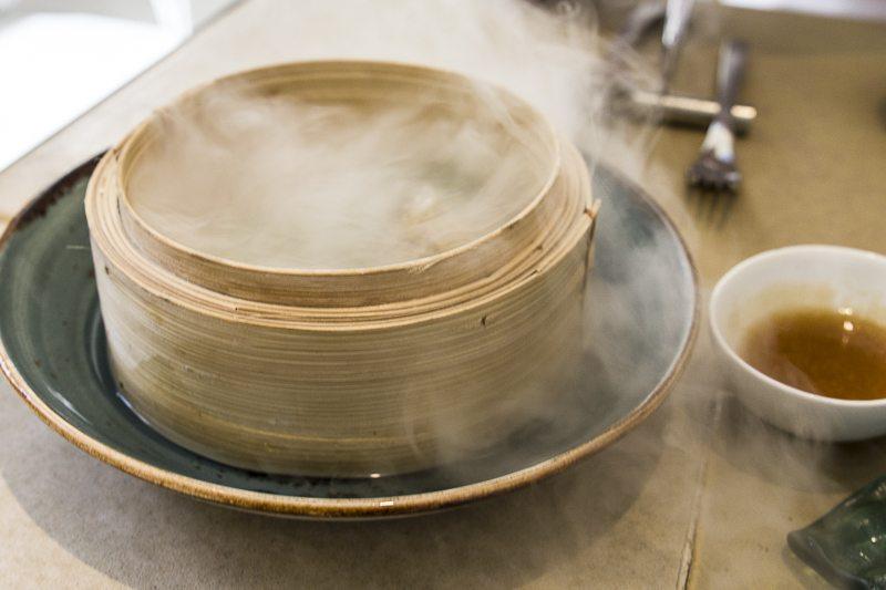 Mushroom dumplings Disfrutar