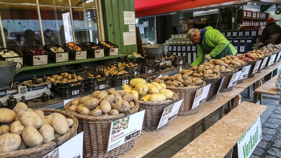 Viktualienmarkt potatoes