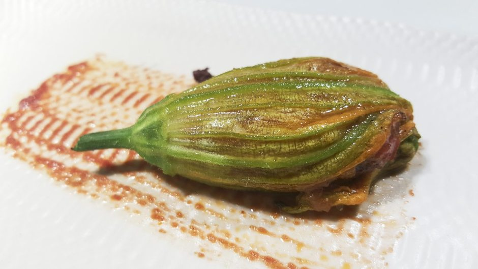 Courgette flowers Celeri