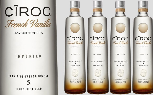 Cîroc Unveils French Vanilla Vodka For Mixing In Trending Tails