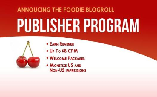 Foodieroll Publisher