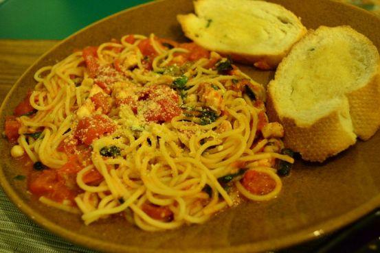 Rego's Seafood Pasta