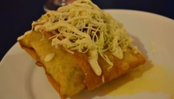 Mooon Cafe - Chimichanga