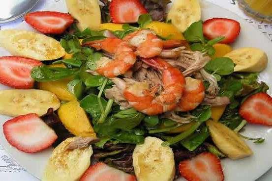 Philippine Food - Cafe Salad