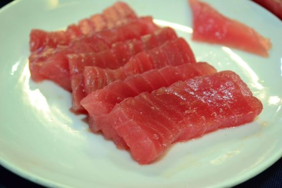 Tuna Sashimi - on Plate