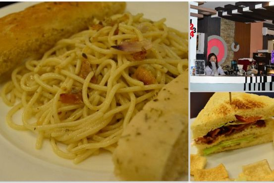 Bulad Pasta and BLT