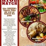Ranchero's RICE MATCH!
