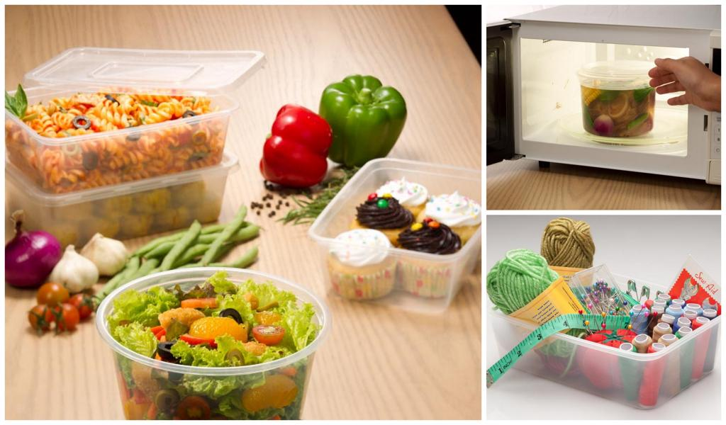 Ready Wrap Containers for veggies