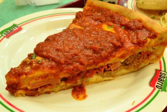 Sbarro  - Chicago Deep Dish