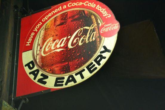 Paz Eatery - Signage