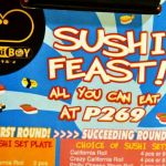 All You Can Eat: Sushi Feast