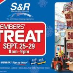 SnR Members Treat on September 25-29, 2013