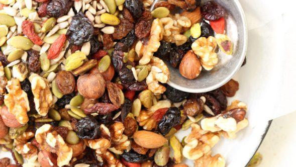 Alternative Healthy Snacks - Trail Mix