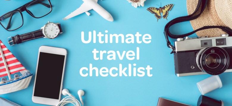 Ultimate Travel Checklist