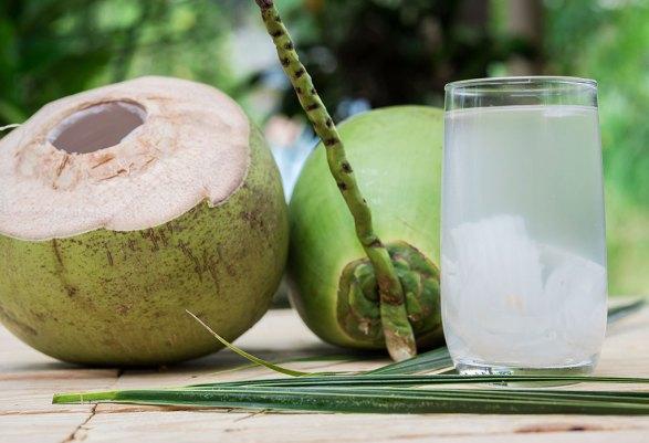 Alternative Healthy Snacks - Coconut Water