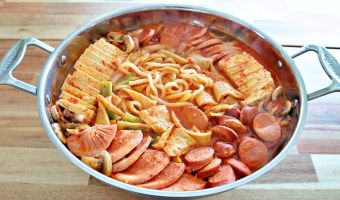 Budae Jjigae Korean Army Stew Recipe