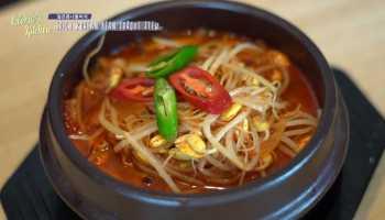 Spicy Korean Bean Sprout Pork Stew