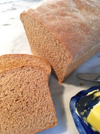 Heavenly Whole-Wheat Bread