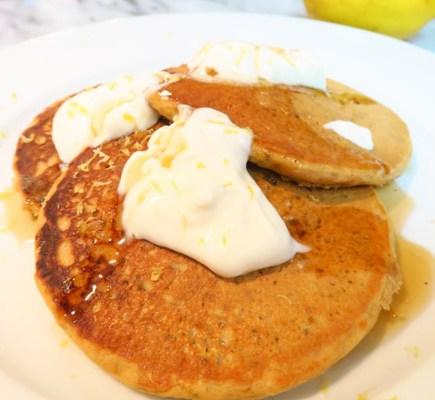 Lemon Chia Pancakes