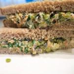 Tuna & Split Pea Salad Sandwiches