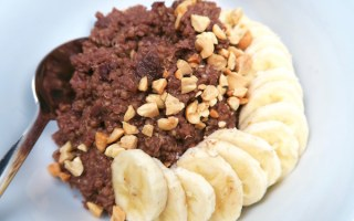 Chocolate for Breakfast Quinoa