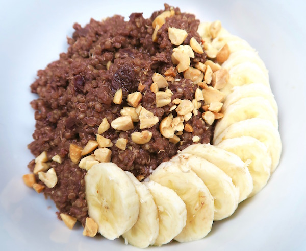 Chocolate for Breakfast Quinoa