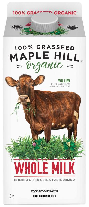 Maple Hill organic milk