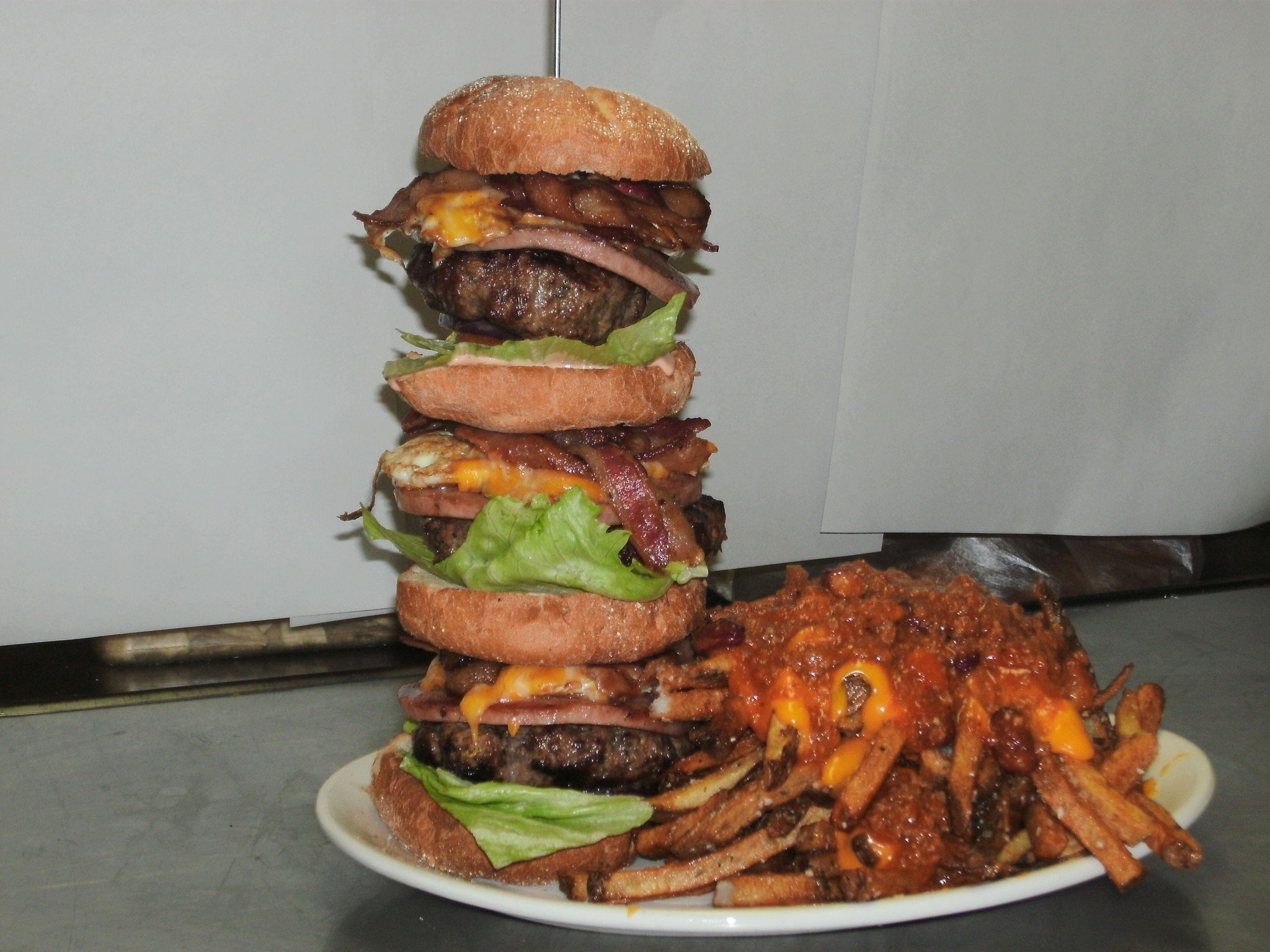 Filled Food Man Cheese Vs Burger