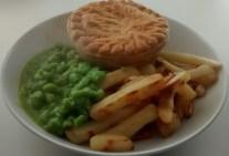 Lidl Pie Chips Mushy Peas