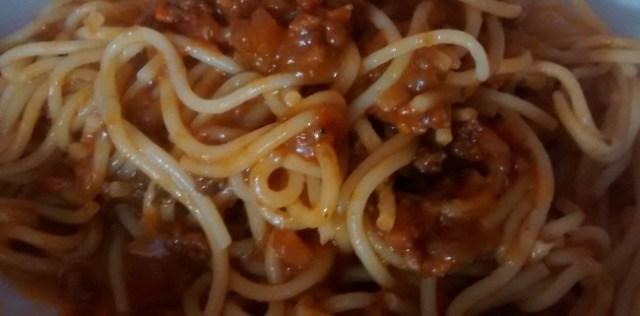 Spaghetti Bolognese Sauce Recipe
