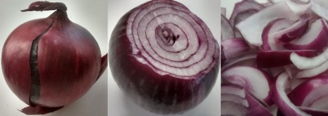 Frozen Onions Step by Step