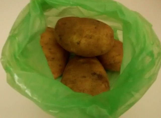 Stop Potatoes Sprouting JML Green Bags