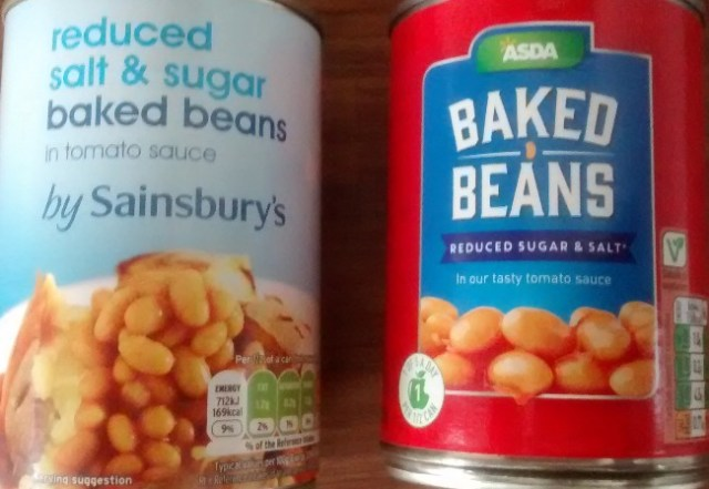 Compare Reduced Sugar Reduced Salt Baked Beans Sainsburys