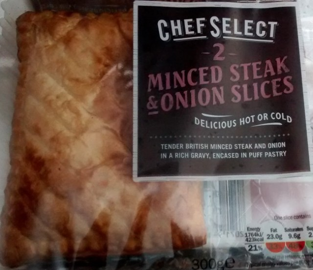 Chef Select Minced Steak Onion Slices Lidl Review Food