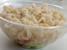 Layered Salad Pasta Cheese