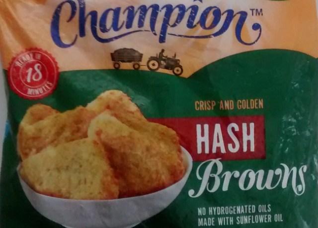 Aldi Champion Frozen Hash Browns Price