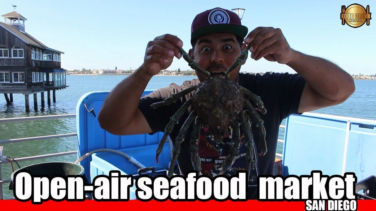 Open-air Seafood Market In San Diego ...