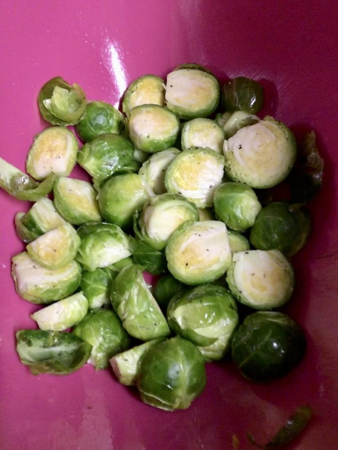 The Brussels sprouts