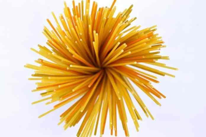 If you're making a dish using long pasta