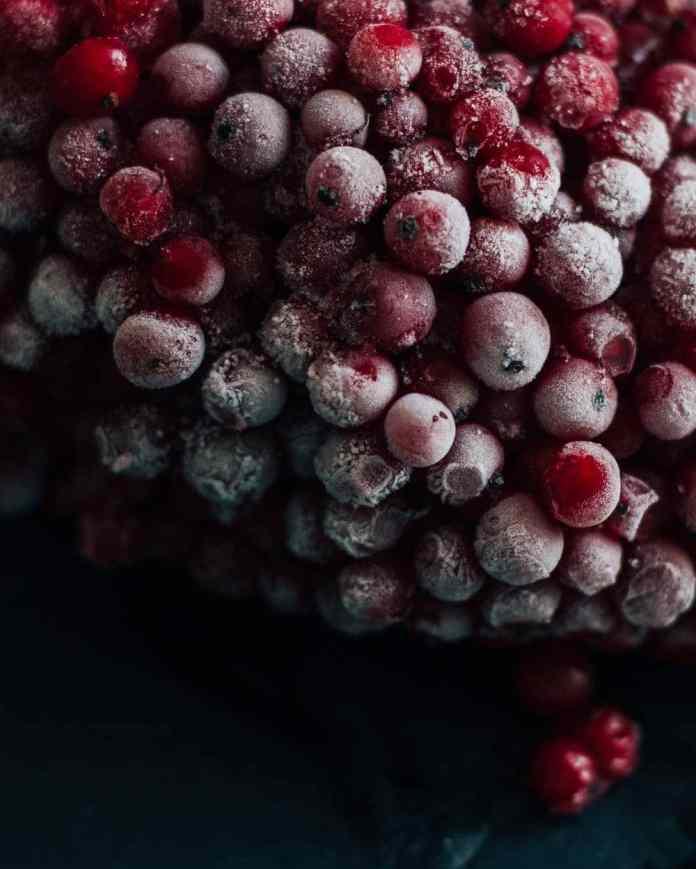 freezing fresh fruit