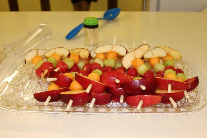 grillrd fruit kabobs