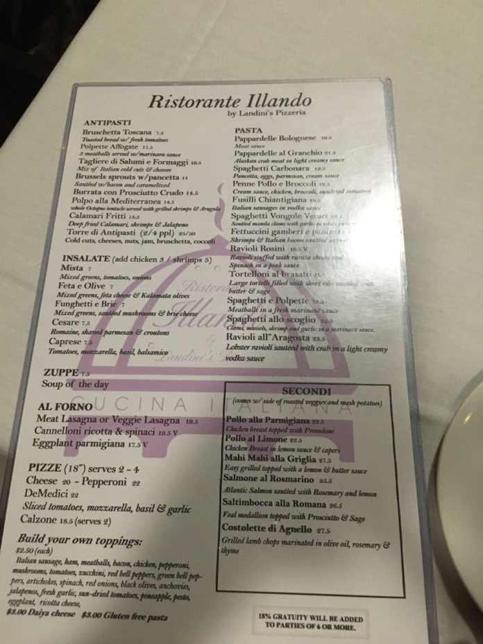 illando menu