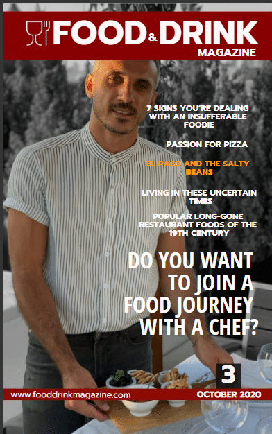 Food Drink Magazine Issue 3 October 2020