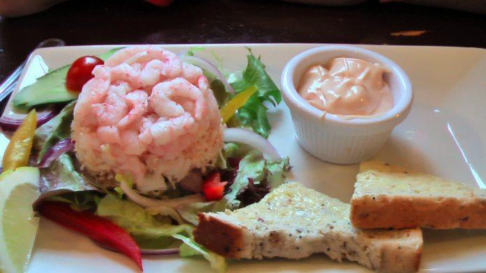 prawn (shrimp) cocktail