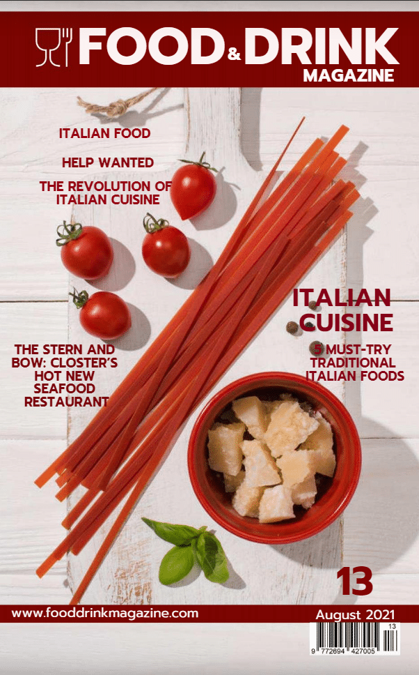 Food Drink Magazine Issue 13 August 2021