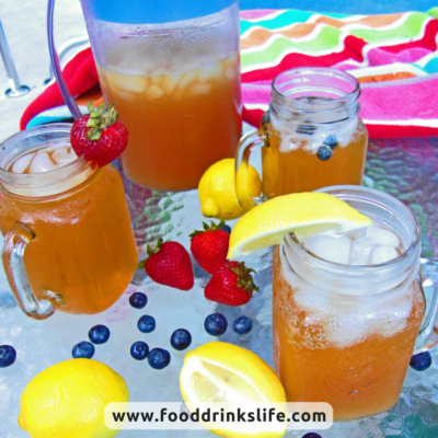 Sparkling Iced Tea | Food Drinks Life