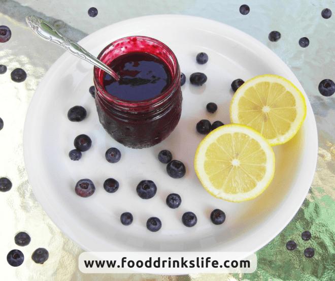 Blueberry Lemon Syrup   Food Drinks Life