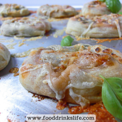 Fun with Pizza Dough: Mini Calzones | Food Drinks Life