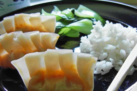 Kimchi Dumplings   Food Drinks Life